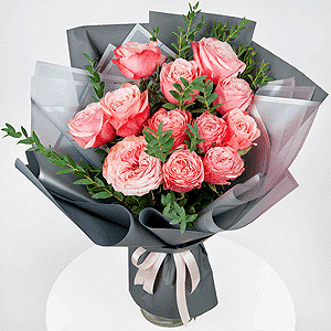 Бизнес-букет +30% цветов с доставкой в Иркутске