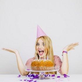 Поздравления с Днём рождения девушке